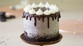 How to Make a Cookies and Cream Cake