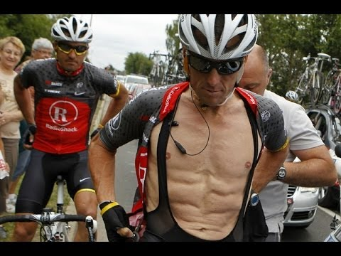 Lance Armstrong Talks About Steroids & The NHL NFL lack of testing.