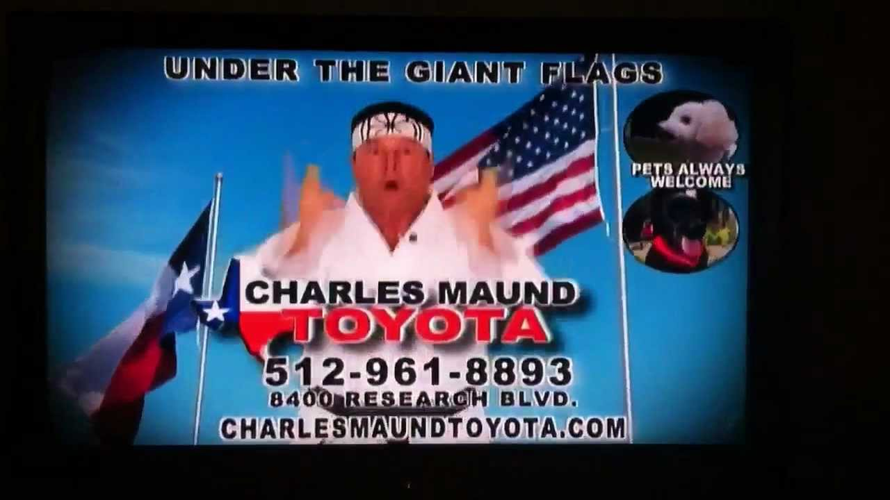 Charles Maund Commercials