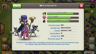 Clash Of Clans 11 Witch Attack Win!!!