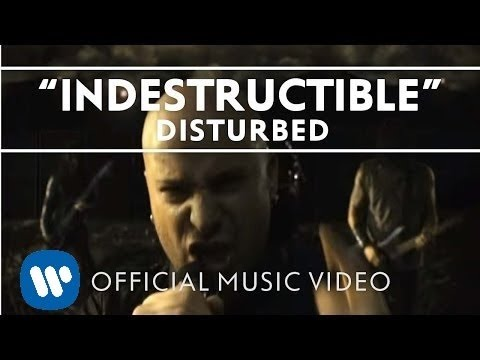 "Disturbed - Indestructible [Official Music Video], © 2011 WMG ""Indestructible"" by Disturbed from 'Indestructible,' available now. Download on iTunes: http://bit.ly/roOfBV Links: Facebook: http://www.facebook...."