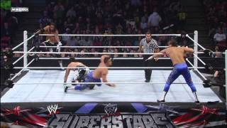 The Usos Vs. Primo & Epico: WWE Superstars, February 1