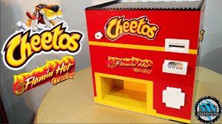 Lego Crunchy Cheetos Chips Machine   Flamin' Hot Cheetos