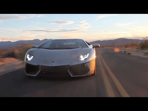 Road Trip on Lamborghini Aventador