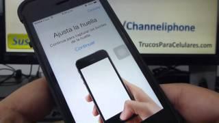 Como Desbloquear El Iphone Con La Huella Digital 5s 5C 5 4