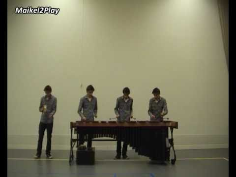 Oasis -  Wonderwall on Marimba