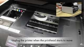 Printhead Cannot Move Error On S315/S415/S515 Printers