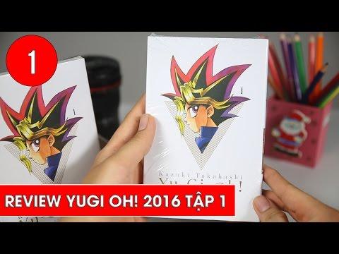 Review Vua trò chơi Yugi Oh! 2016  tập 1 - Unboxing Manga