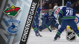 03/09/18 Condensed Game: Wild @ Canucks