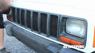 How To: Painting The Grill On A 19972001 Jeep Cherokee