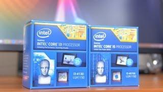 Haswell Showdown! Core I3-4130 Vs Core I5-4670k