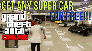 GTA 5 ONLINE: Get ANY SUPER CAR FREE Online Insure Any