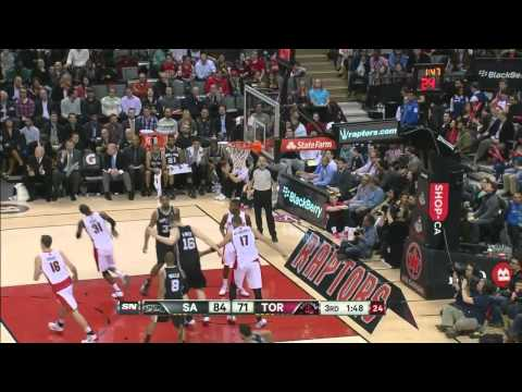 Unstoppable-2 2013-2014 Offense Mix for San Antonio Spurs