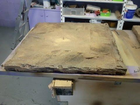 DIY (Ahorrate más de 200€ imitando piedra con porexpan)