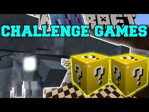 Minecraft: HAMMERHEAD CHALLENGE GAMES - Lucky Block Mod - Modded Mini-Game