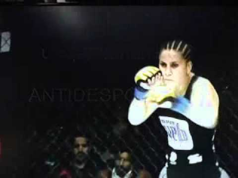 unsportsmanlike in MMA - Jennifer Maia vs Shelia Gaff (anti-desportivo)