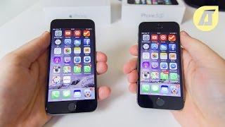 IPhone 6 Vs. IPhone 5s Deutsch / German