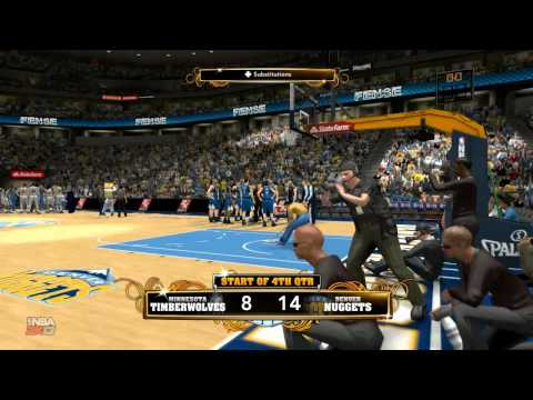 Minnesota Timberwolves vs. Denver Nuggets | Pepsi Center | 03/09/2013 | NBA 2k13