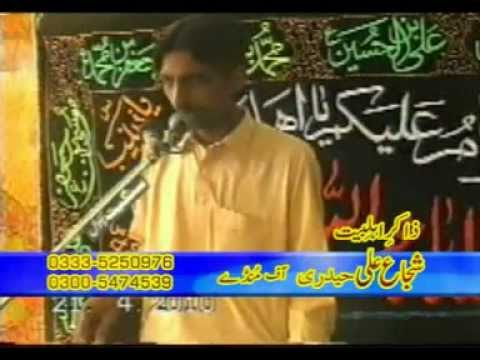 SHUJA ALI HAIDERI(ZAKIR-E-AHL-E-BAIT ) 2 OF MONDAY CHAKWAL upload by  APNA ROOPWAL.3gp