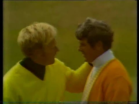 Doug Sanders and Jack Nicklaus at The Open St Andrews 1970