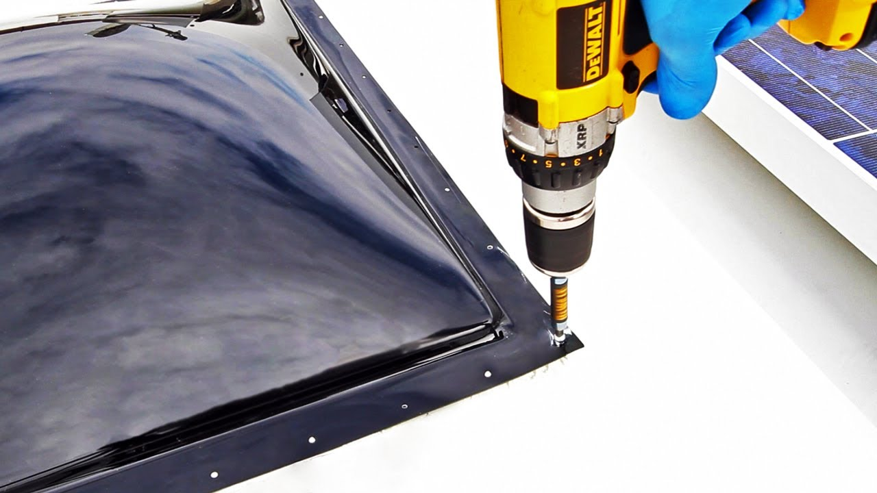How To Replace An Rv Skylight Youtube