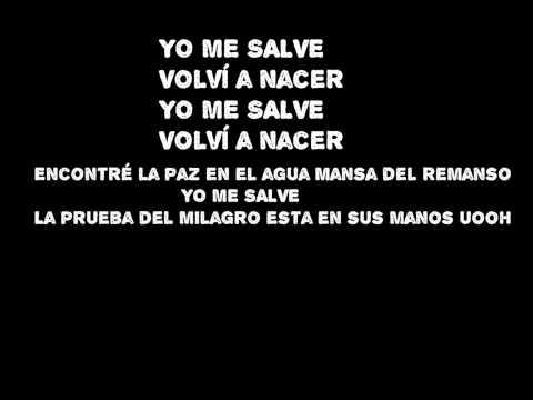 Evaluna Montaner -Yo me salve (Letra)