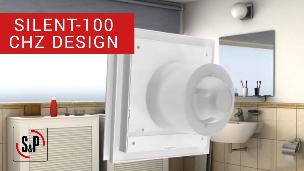 SILENT-100 CHZ DESIGN S&P: Extractores de Baño ...