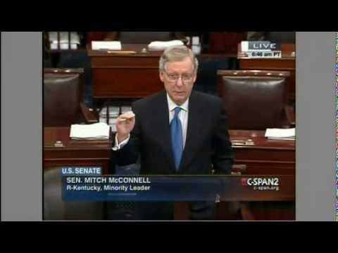 Mitch McConnell: Harry Reid Obstructing Vote on Iran Sanctions