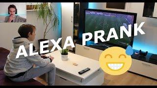ZUKUNFT!!! Alexa PRANK mit Amazon Echo Fernbedienung!!!