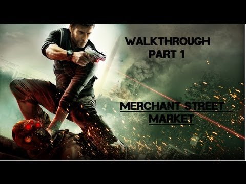 Splinter Cell: Conviction Walkthrough Part 1 - Mission 1 - Merchant Street Market