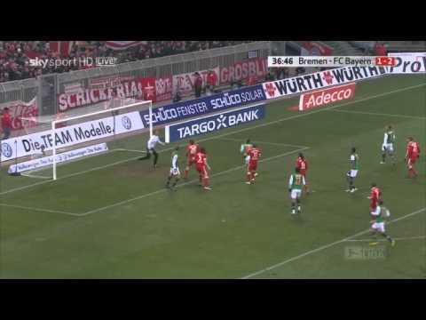 Mesut Özil vs Bayern München (H) 09-10 by CR10