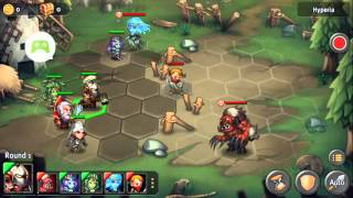 Heroes Tactics Heroic stage 1-5 3* F2P