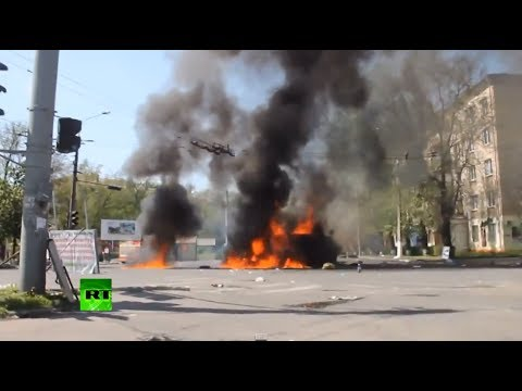Uncut Chronicles: Ukraine, May 2014 (Raw Video Timeline)