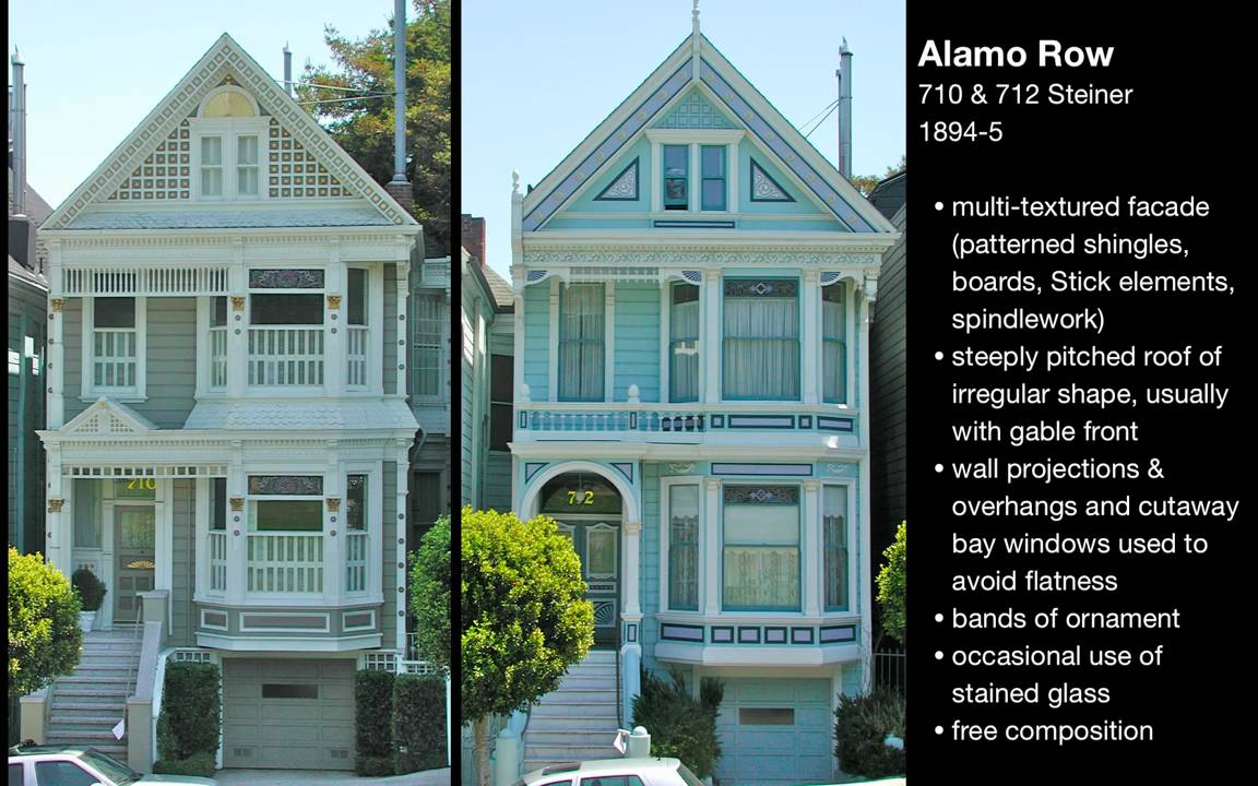 When and why styles changed victorian edwardian for Residential architectural design styles