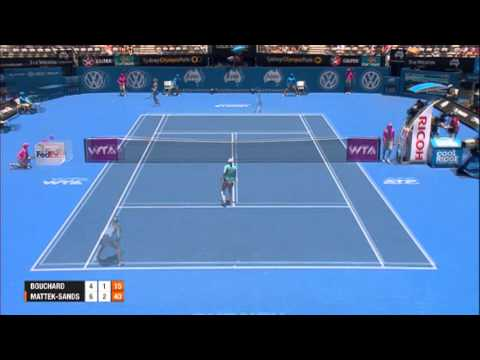 Eugenie Bouchard v Bethanie Mattek-Sands, Apia International Sydney 2014