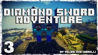 [Coop] Minecraft Diamond Sword Adventure. #3: Тайны пирамиды. (2/2)