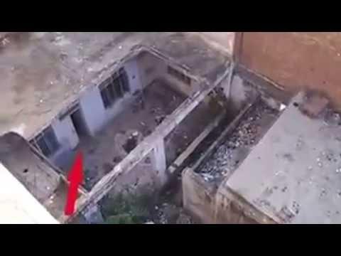بالفيديو ظهور جن بوضوح اثناء تصوير مكان مهجور