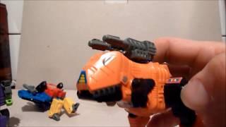 Transformers KO G1 Combining DINOBOTS !!! Review