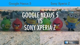 Google Nexus 5 Vs Sony Xperia Z Camera Comparison