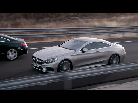 2015 Mercedes S-CLASS COUPE reveal promo