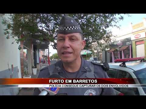 04/02/2019 - Dois são presos após furto em residência no Bairro Ibirapuera em Barretos