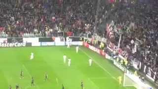 Champions League, Juventus-Olympiacos: Pirlo fa 1-0 su punizione