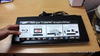 Samsung Blu-ray Player BD-D5100 Unboxing