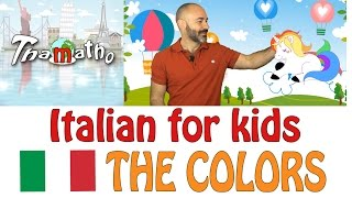 Italian for kids - The colors - I colori