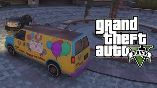 GTA 5 Online: How To Get The Clown Van! 'Rare Modded Car