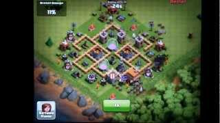 Clash Of Clans Town Hall Level 5 Farming Defense Layout