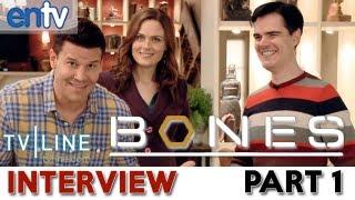 Bones Set Visit: Season 9 Scoop, David Boreanaz, Emily Deschanel, Booth Brennan Wedding? Part 1 view on youtube.com tube online.