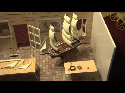 1/16 scale  model ship builders  shop