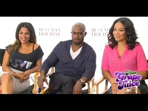 Nia Long Taye Diggs Sanaa Lathan The Best Man Holiday Interview ...