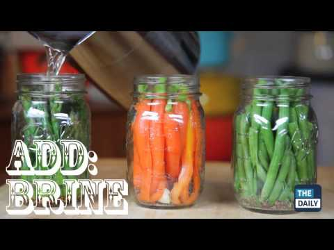 How to pickle veggies